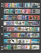 GB COLLECTION OF USED STAMPS BB019