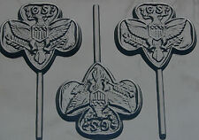 GIRL SCOUT LOLLIPOP CHOCOLATE CANDY MOLD MOLDS PARTY FAVORS SCOUTS