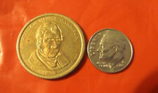 2009 D WILLIAM HENRY HARRISON  9th Presidential $1dollar USA Coin