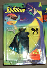 "THE SHADOW 5"" FIGURE ""AMBUSH SHADOW"" WITH QUICK DRAW ACTION  KENNER 1994"