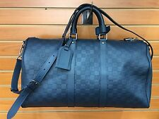 Louis Vuitton Keepall Bandouliere 45 Duffle Bag Cosmos Infinity Leather N41195