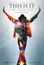 MICHAEL JACKSON'S THIS IS IT MOVIE POSTER Original SS 27x40 One Sheet