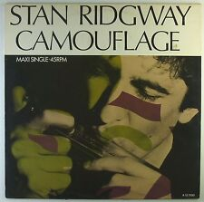 "12"" Maxi - Stan Ridgway - Camouflage - A2997h - washed & cleaned"