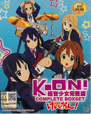 K-ON! SEASON 1 & 2 + THE MOVIE & 5 OVA JAPANESE ANIME DVD ENGLISH SUBTITLES