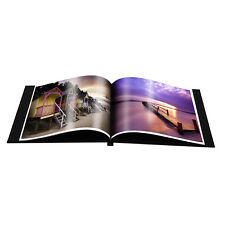 "Fotospeed easybook 10x8"" Landscape Portfolio Photo Album with Window. No Glue!"