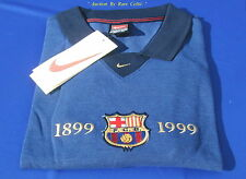 BNWT Official Nike 1899-1999 FC Barcelona Centenary Casual Cotton Shirt SS XL