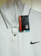 Tiger Woods Nike Golf Polo Shirt: XL (NWT - $105.00) *White*