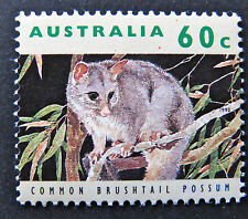 Australian Decimal Stamps:1992 Australian Wildlife - Single 60c - Possum MNH