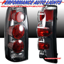 1988-1999 CHEVY GMC CK C10 FULL SIZE TRUCK SUV ALTEZZA TAIL LIGHTS CHROME SMOKE
