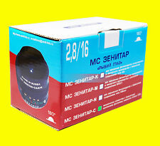 Lens MC  Zenitar f/2.8/16mm Fish Eye for Canon EOS with focusing chip! New.