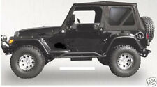1997-2006 JEEP WRANGLER REPLACEMENT SOFT TOP TINTED WINDOWS BLACK