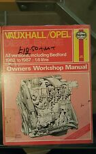 Haynes Manual No. 1222 Vauxhall Opel Diesel Engine 1982 - 1987 Including Bedford