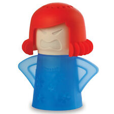 Cute Angry Mama Shape Kitchen Microwave Clean Cleaner Steamer Cleanser Gadget