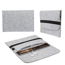 """Sleeve für 10,2"""" - 12,2 Zoll Tablet Schutz Tasche Hülle Cover Zubehör Filz Grau"""