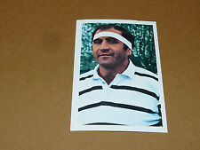 N°62 ROGER FITE CA BRIVE RECUPERATION AGEDUCATIFS RUGBY 1971-1972 PANINI