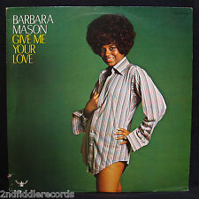 BARBARA MASON-GIVE ME YOUR LOVE-Soul & Funk Album With Rare Stand Up-BUDDAH