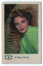 1960s Swedish Film Star Card Star Bilder A #87 US American Actress Sheree North