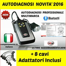 AUTODIAGNOSI UNIVERSALE MULTIMARCA PROFESSIONALE W.0.W 2016 AUTO DIAGNOSI