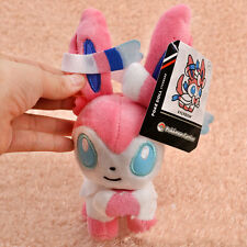 "Hot Pokemon 7"" Eevee Sylveon Plush Soft Toy Stuffed Doll Great Gift"
