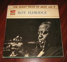 "Roy Eldridge Lp "" THE MANY FACE OF JAZZ VOL.9 "" Italy/Vogue"