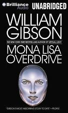 Mona Lisa Overdrive by William Gibson (2013, CD, Unabridged)