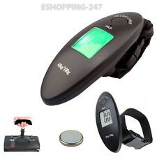Portable Electronic Hanging Scale 40Kg Digital Luggage Travel Trolly Suit C058