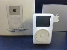 Apple iPod 1. generación 5gb en OVP m8513d/a muy raramente rareza 1g White 1nd 1st