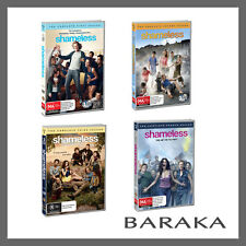 SHAMELESS US Version Season 1, 2, 3 & 4 DVD Set R4 TV Series New & Sealed 1 - 4