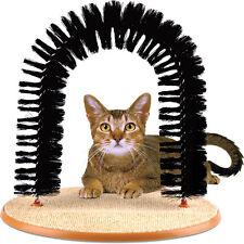 CAT Tiragraffi Arch setole GATTINO Grooming Massaggiatore Scratcher libera di erba gatta