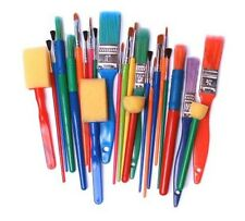 Major Brushes Art, Craft & Kid's Paint Brushes & Foam Dabbers Pack of 25