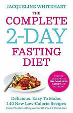 The Complete 2-Day Fasting Diet by Jacqueline Whitehart Paperback Book (English)