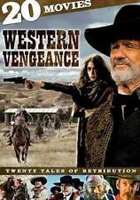 Western Vengeance: 20 Movies (DVD,2013, 4-Disc Set) Dwight Yoakam, Slim Pickens