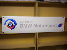 BMW Motorsport vintage style workshop / garage banner M10, 2002, M3.1502, M1 etc