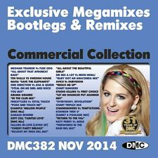 DMC Commercial Collection 382 Club Hits Mixes & Two Trackers DJ Music CD