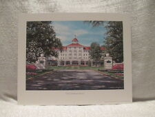 William Mangum The Carolina Hotel Golf Lithograph