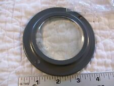 "Round Glass 2 3/4"" ""Window"" 4"" overall  From Vintage Atlas Model 4010 Jig Saw"