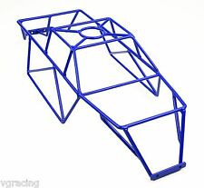 Team Associated Monster MGT 8.0  Rival Powder Coated Blue Roll Cage By VG Racing