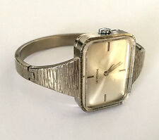 VINTAGE LE MONDE ITALY .925 STERLING SILVER SWISS WOMENS WRIST 848-M WATCH RUNS