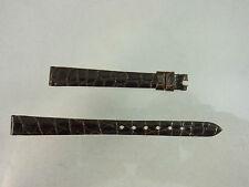 CHOPARD UHREN ARMBAND ERSATZBAND LEDERARMBAND 10mm KROKOLEDER | n275