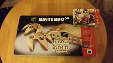 Clay Fighter: Sculptor's Cut (Nintendo 64, 1998) + Gold N64 Console Holy Grail
