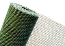 Clôture en PLASTIQUE 1, 2 m Hauteur Maille 5mm vert foncé (MARCHANDISE AU MÈTRE)