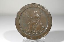 1797 BRITANNIA 2 PENCE GEORGIUS lll (Cartwheel) GREAT BRITIAN -Early Copper Coin