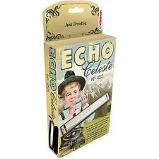 HOHNER 455 ECHO CELESTE TREMOLO HARMONICA KEY OF D NEW IN BOX SALE