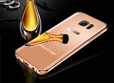 Luxury Aluminum Ultra-thin Mirror Metal Case Cover For Samsung Galaxy S7/S7 Edge