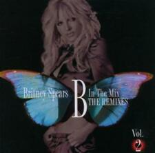 Britney spears/B in the mix the remezclas vol.2 nuevo y en su embalaje original incl. tiesto Mix/CD