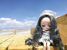 "12""Neo Blythe Doll  Joint Body Grey Hair Matte Face Nude Doll from Factory CA"