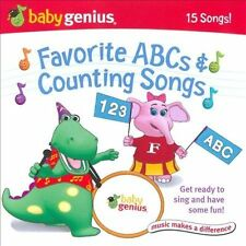 Baby Genius: Favorite ABCs & Counting Songs by Various Artists (CD, 2007, Baby)
