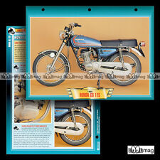 #050.05 Fiche Moto HONDA CG 125 1980 Motorcycle Card