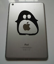 1 x Penguin Decal - Vinyl Sticker for iPad Mini Tablet Animal Samsung Note