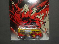 2013 HOT WHEELS FLASH GORDON VW VOLKSWAGEN T1 DRAG BUS HW HOTWHEELS RED/YELLOW
